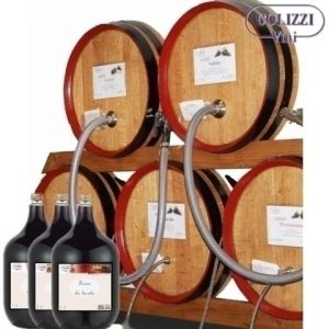 ROSSO RUSTEGO Amabile vino sfuso in dame da 5 lt.