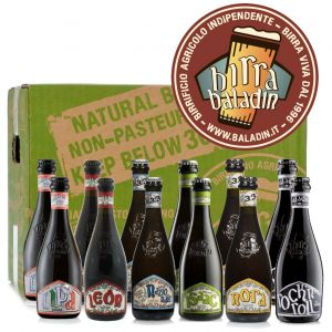 Birre Artigianali BALADIN Assortite 33 cl. - 12 Bottiglie