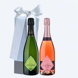 Champagne BAUSER Cofanetto da 2 BOTTIGLIE