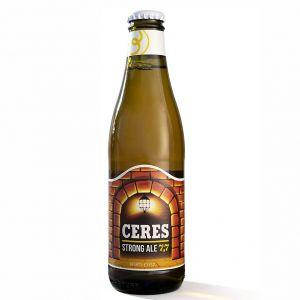 Birra CERES STRONG ALE 7,7 vetro a perdere 33 cl. - Scatole da 24 bottiglie