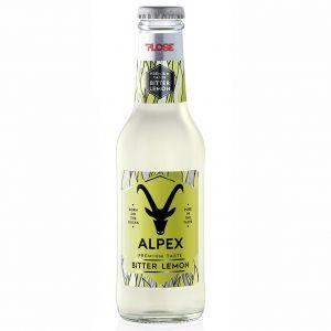 BITTER LEMON Alpex PLOSE 20 cl. vetro a perdere - Scatole da 24 bottiglie