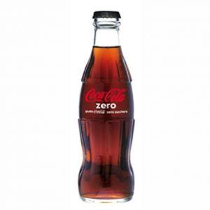 COCA COLA Zero 33 cl. vetro a perdere - Pacchi da 24 bottiglie