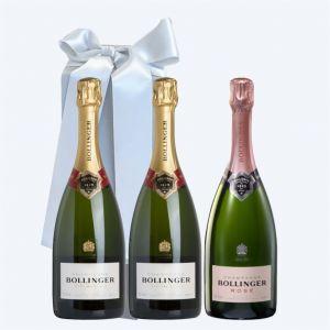Champagne BOLLINGER Cofanetto da 3 BOTTIGLIE