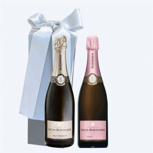Champagne LOUIS ROEDERER Cofanetto da 2 BOTTIGLIE