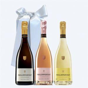 Champagne PHILIPPONNAT Cofanetto da 3 BOTTIGLIE
