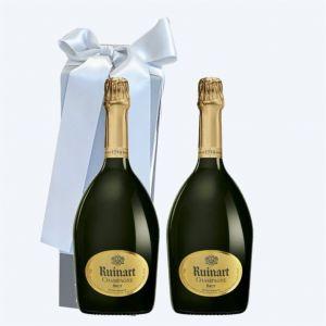 Champagne RUINART Cofanetto da 2 BOTTIGLIE