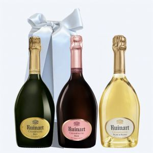 Champagne RUINART Cofanetto da 3 BOTTIGLIE
