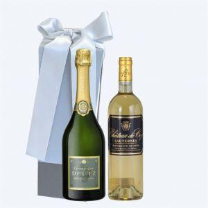 Champagne DEUTZ DE COY Cofanetto da 2 BOTTIGLIE