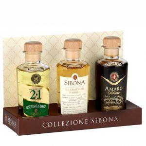 Confezione LINEA GRADUATA 20 cl. Birra-Amaro-Barolo SIBONA