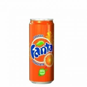 FANTA 33 cl. lattina - Pacchi da 24 lattine