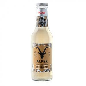 GINGER ALE Alpex PLOSE 20 cl. vetro a perdere - Scatole da 24 bottiglie