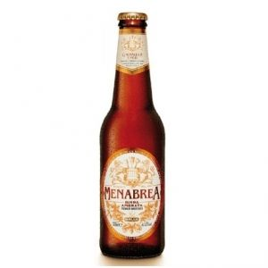 Birra MENABREA Ambrata 33 cl. vetro a perdere