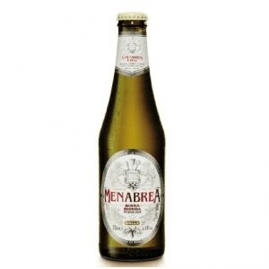 Birra MENABREA BIONDA 33 cl. vetro a perdere