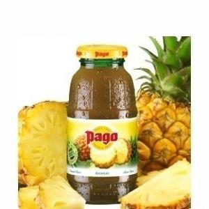 PAGO Succo ANANAS 20 cl. vetro a perdere - Pacchi da 24 bottiglie
