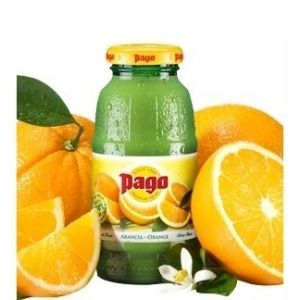 PAGO Succo ARANCIO 20 cl. vetro a perdere - Pacchi da 24 bottiglie