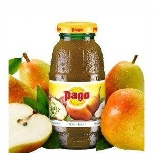 PAGO Succo PERA 20 cl. vetro a perdere - Pacchi da 24 bottiglie