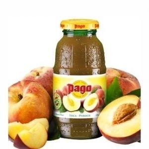PAGO Succo PESCA 20 cl. vetro a perdere - Pacchi da 24 bottiglie