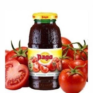 PAGO Succo POMODORO 20 cl. vetro a perdere - Pacchi da 12 bottiglie