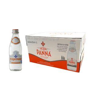 ACQUA PANNA 25 cl. vetro a perdere - Scatole da 24 bottiglie