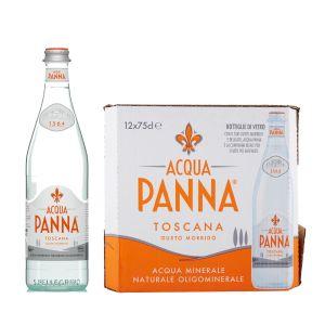 ACQUA PANNA Naturale 75 cl. - Scatole da 12 bottiglie