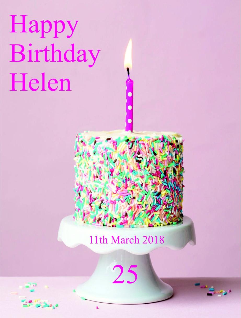 Etichetta personalizzata compleanno